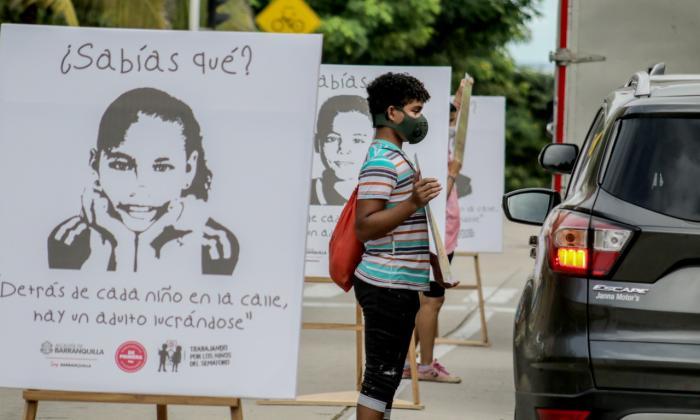 En video   No más 'niños del semáforo'