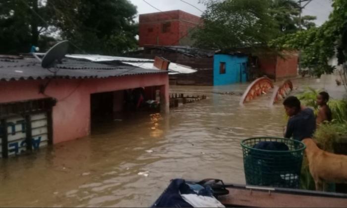 En video | Calamidad en más de 50 barrios por inundaciones en Cartagena