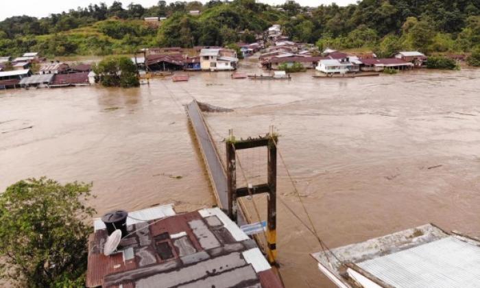 Chocó: 10 municipios con afectaciones por las lluvias