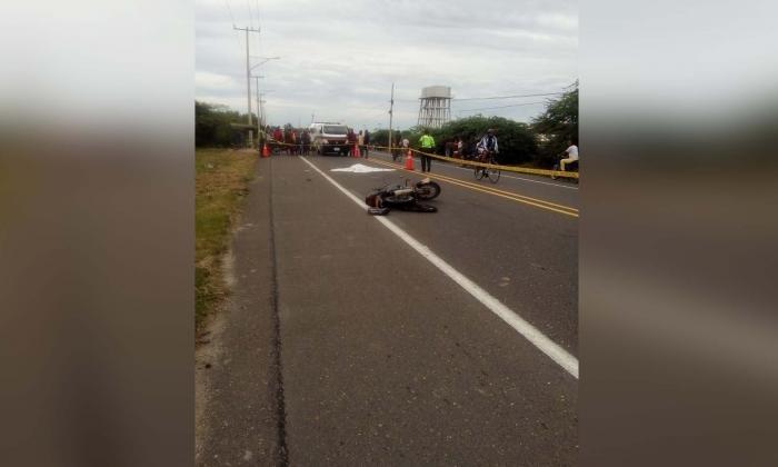 Dos personas perdieron la vida en accidente en la Troncal del Caribe