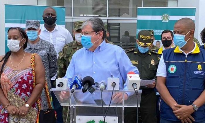 Mindefensa encabeza PMU en Chocó por desbordamientos