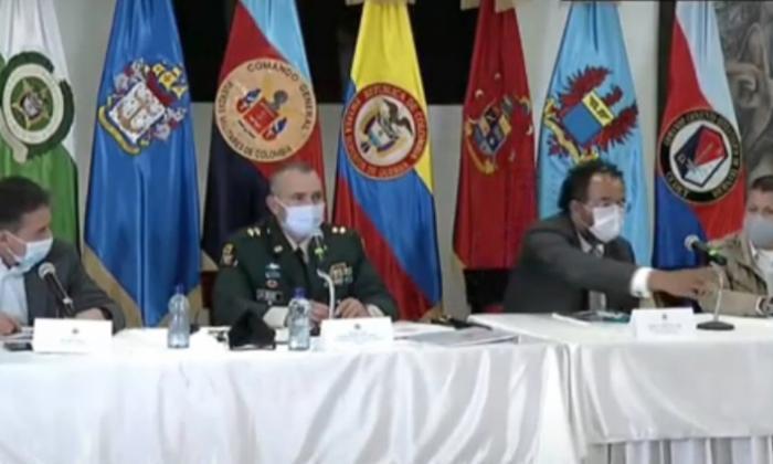 Vista del encuentro donde la Comisión de la Verdad recibió el informe sobre el desplazamiento de soldados.