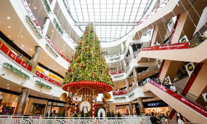 Centro comercial Viva Barranquilla ubicado en el norte de la ciudad.