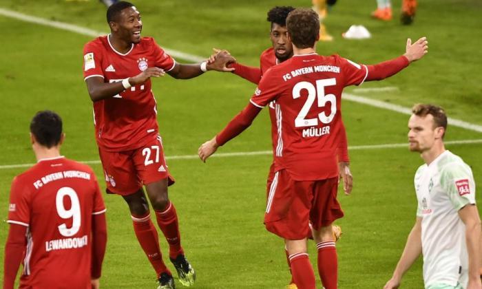 El Bayern cede un empate ante el Bremen