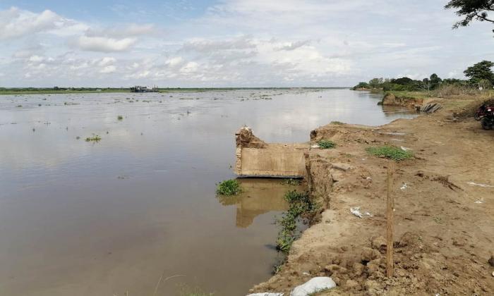 Preocupación por parálisis de obras en km 2.4 de vía Salamina - El Piñón