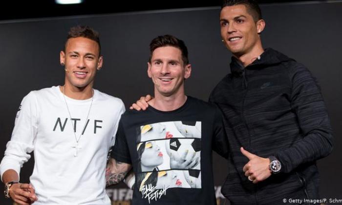 Cristiano, Messi y Neymar, entre nominados a The Best
