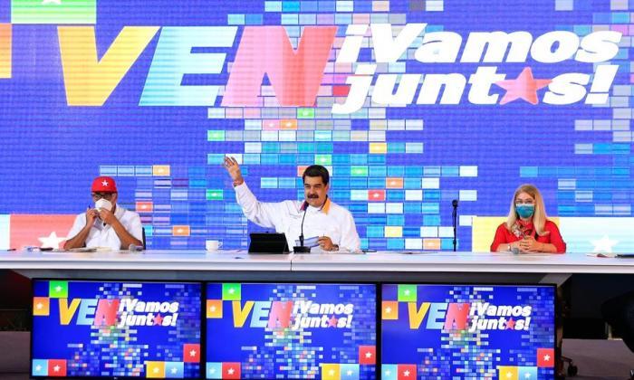 El chavismo pide a jefes de comandos electorales buscar el voto sin descanso