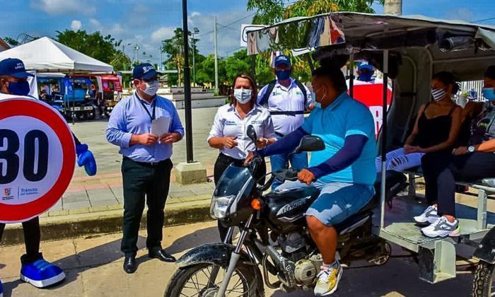 Tránsito del Atlántico lanza campañas de educación para la seguridad vial