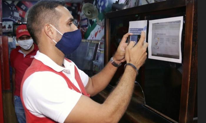 Sancionan negocios que violaron toque de queda y ley seca en Cartagena