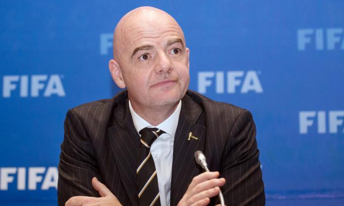 """Infantino recordó a Maradona afirmando que """"sin lugar a dudas marcó la historia del fútbol""""."""