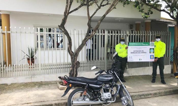 Ocupan cinco casas en Sucre por vender estupefacientes