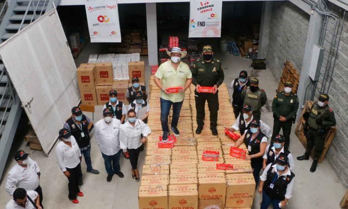 Reportan millonario decomiso de mercancía de contrabando en Córdoba
