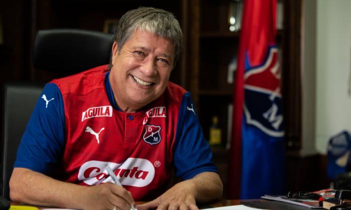 'Bolillo' Gómez, nuevo técnico del Medellín