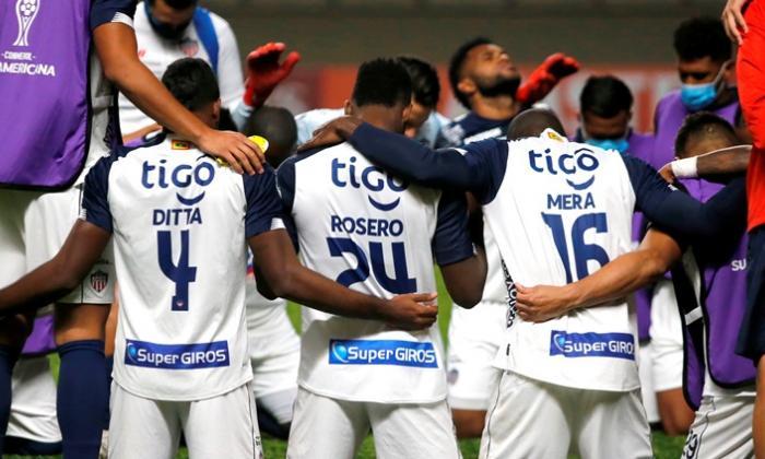 Los jugadores de Junior se han mostrado unidos frente a las actuales circunstancias.