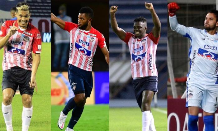 Teófilo, Borja, Cetré y Viera se perfilan como posibles titulares en Junior.