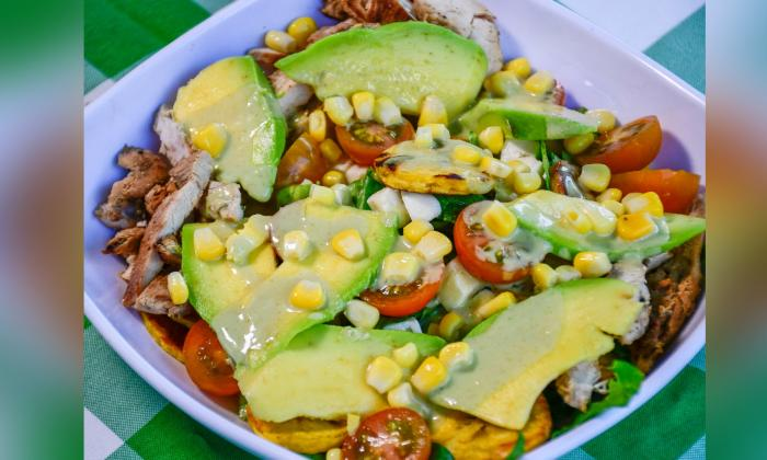 Bowl colombiano, una  mezcla de sabores locales