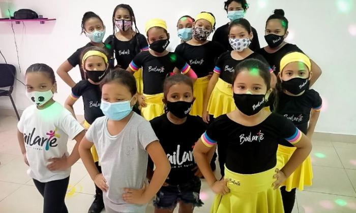 100 niños en el musical virtual 'Una Navidad en Bolívar'
