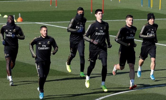 Hazard, Jovic y Mariano agilizan su recuperación