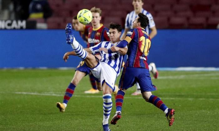 Barcelona se impuso 2-1 ante la Real Sociedad.