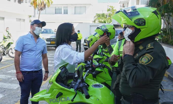 Distrito entregó dotación a la Policía de Tránsito