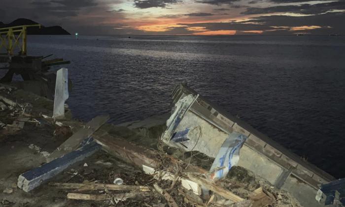Fotografía de la costa de Providencia tomada hace 15 días por Sherry Bent y cedida a EL HERALDO.