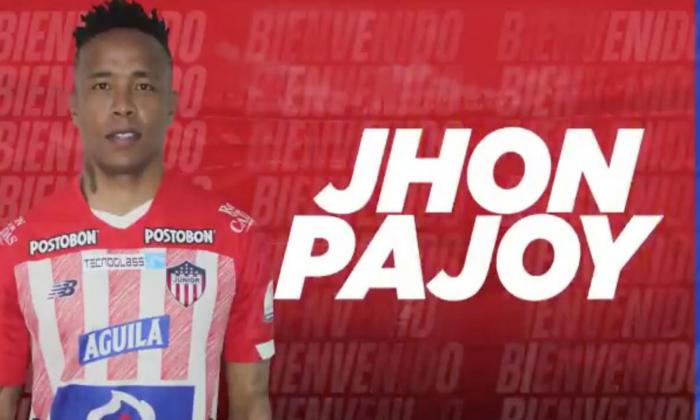 En video | Junior confirmó la contratación de Pajoy