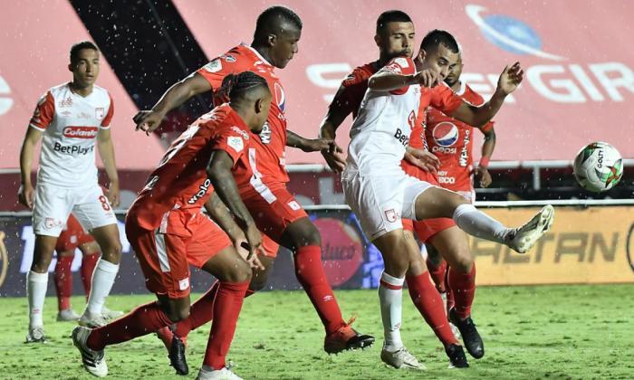 Santa Fe deberá darle la vuelta al 3-0 que sufrió en su visita al Pascual Guerrero.
