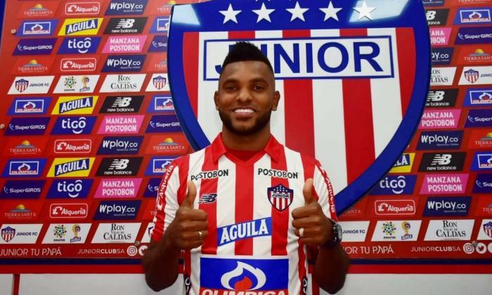 Miguel Borja sí continuará en Junior