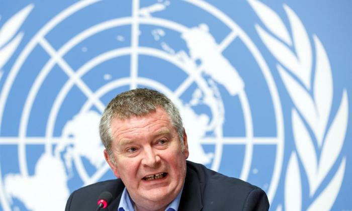Uno de los responsables de la lucha contra la pandemia en la Organización Mundial de la Salud (OMS), Mike Ryan.