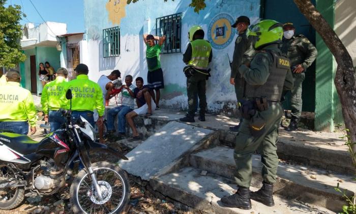 Policía atendió 315 riñas  en el primer día del año