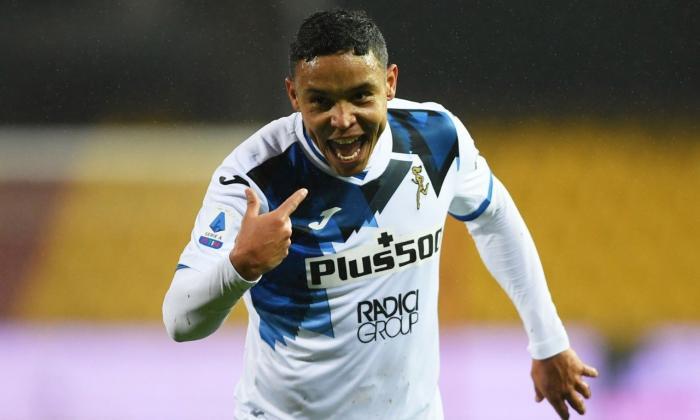 Muriel convirtió uno de los goles en la victoria ante el Benevento, en la última jornada de la Serie A.