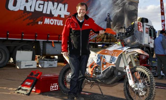 Fallece Hubert Auriol, expiloto, director y tricampeón del Rally Dakar