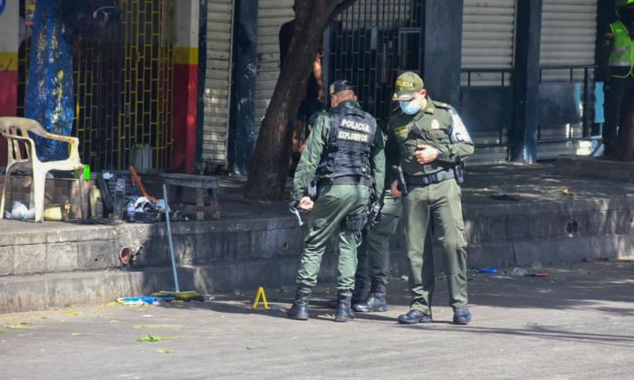 Allanan 'La Tramacúa' para buscar pruebas de atentado