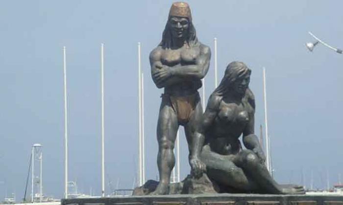 Restauración de esculturas del maestro Lombana en Santa Marta enfrenta a hijos