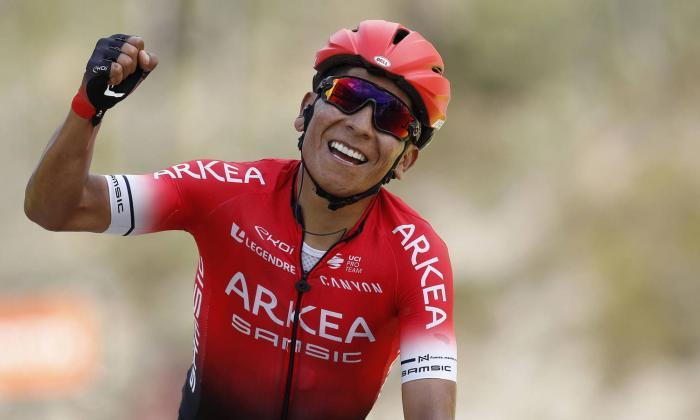 El Arkea del colombiano Quintana, uno de los seis equipos ProTeam invitados