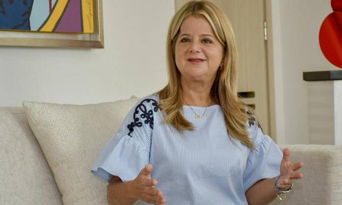 Gobernadora Elsa Noguera, positiva para covid-19