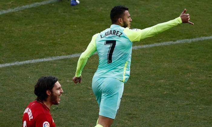 El samario Luis Javier Suárez anota, pero Granada cae 3-1 ante Osasuna