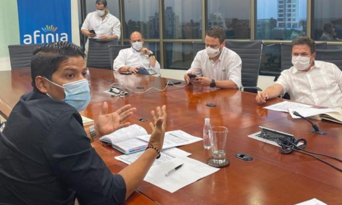La reunión se llevó a cabo para firmar el acuerdo.