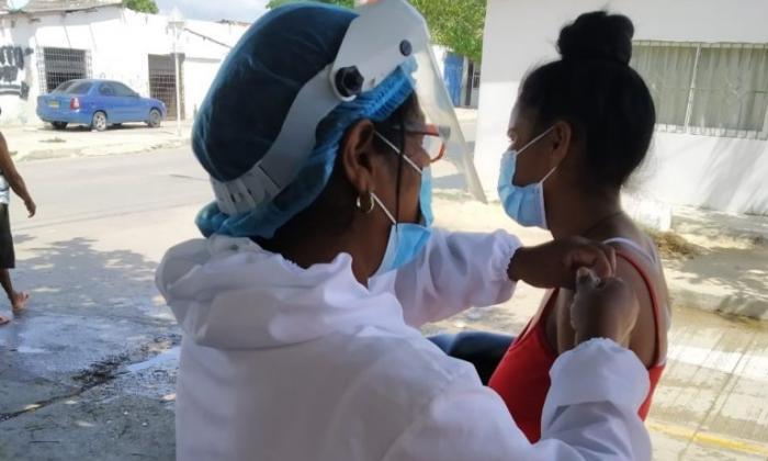 Barranquilla se une a la primera jornada de vacunación