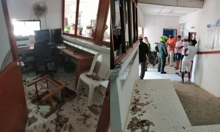 Familiares de fallecido atacaron el hospital de Piojó