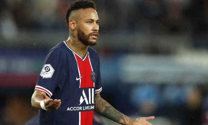 Neymar, delantero del Paris Saint Germain.