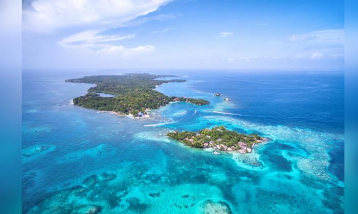 Islas del Rosario, un paraíso marino en el Caribe colombiano