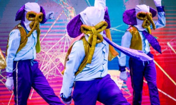 Marimondas del Carnaval del Suroccidente.