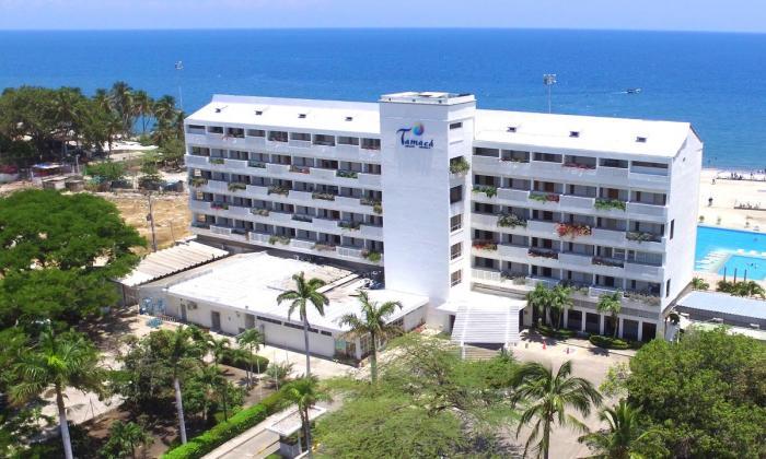 Muere mujer al caer de una habitación en Santa Marta
