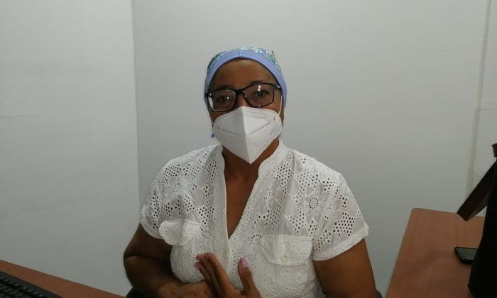 Mery Camargo será la primera vacunada en La Guajira