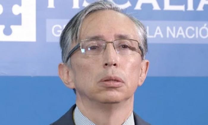 El fiscal delegado del caso Uribe, Gabriel Jaimes.