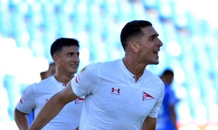 En video   Pablo Sabbag Daccarett debuta con golazo en Argentina
