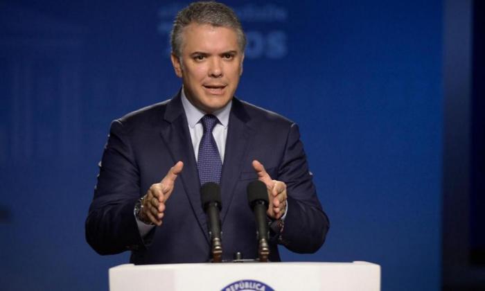 """El presidente aseguró que """"combatirán sin tregua a la 'Narcotalia'""""."""