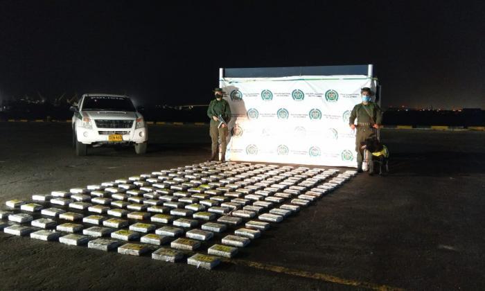 Incautan una tonelada de cocaína en el Puerto