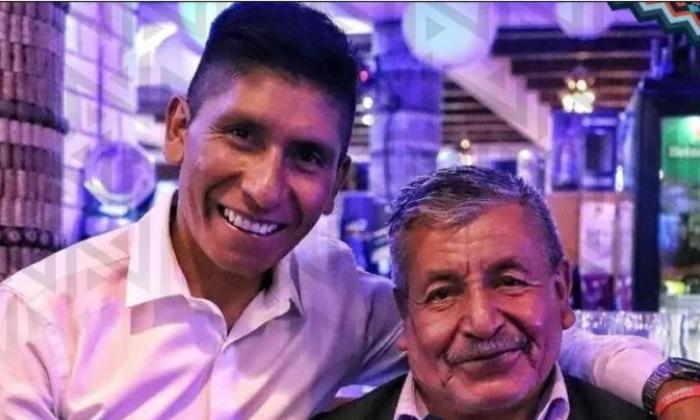 El padre de Nairo Quintana supera la covid-19 y sale de la clínica